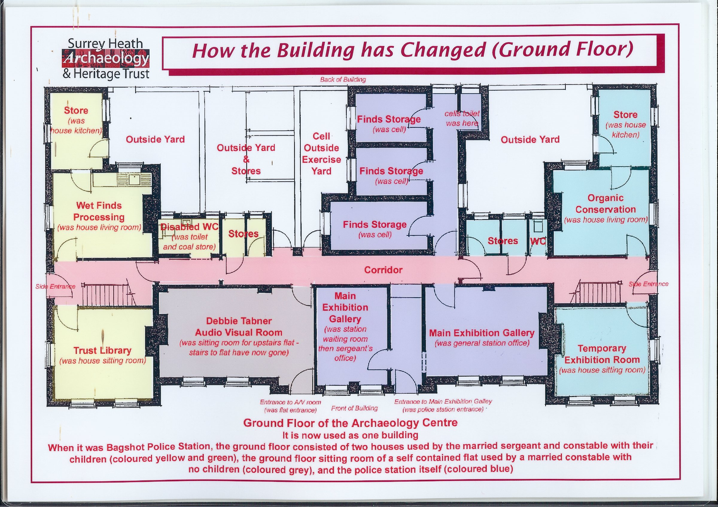 Bagshot Police Station Floor Plans | Surrey Heath